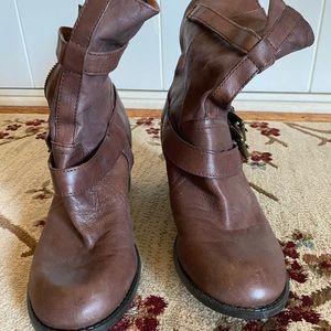 Nine West Vintage America Leather Boots
